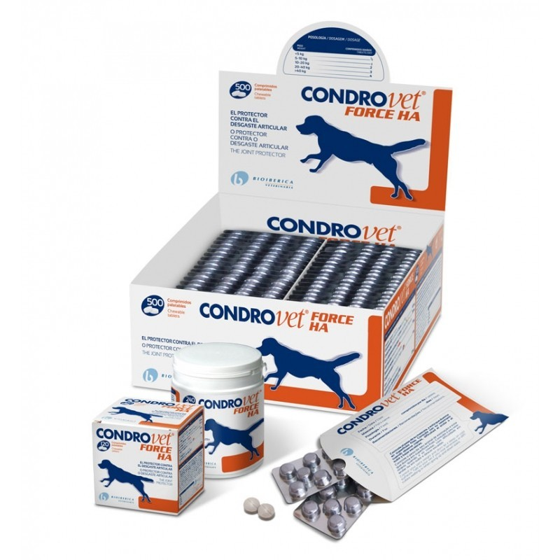 CONDROVET FORCE HA PERROS BIOIBERICA
