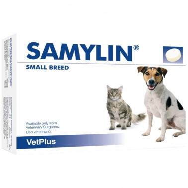 Samylin sobres ayuda la función hepática perros y gatos