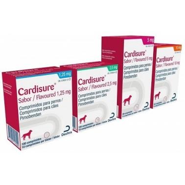 CARDISURE 100 Comprimidos para Perros con Insuficiencia Cardíaca