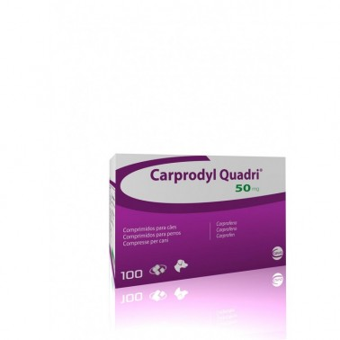 CARPRODYL® QUADRI Carprofeno Antiinflamatorio Masticable para perros