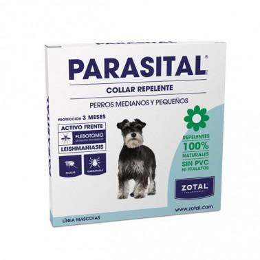 PARASITAL COLLAR REPELENTE PERRO Atiparasitario Perros