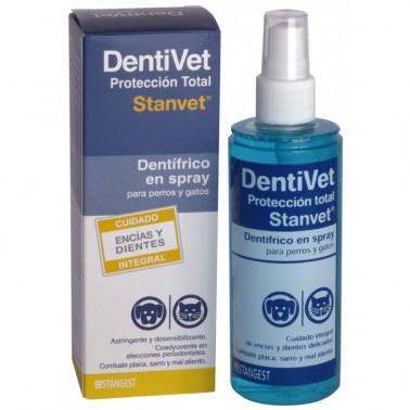 DENTIVET PROTECCION TOTAL 125 ml  para perros y gatos