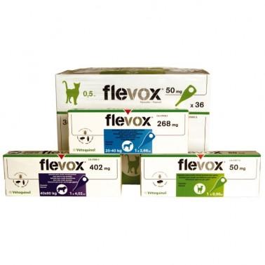 Flevox pipetas Antiparasitario para perros