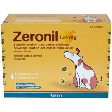 ZERONIL 3 pipetas para perros Antiparasitario.
