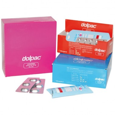 DOLPAC  2 mg (1-6 Kg) 60 Comprimidos  desparasitar perros