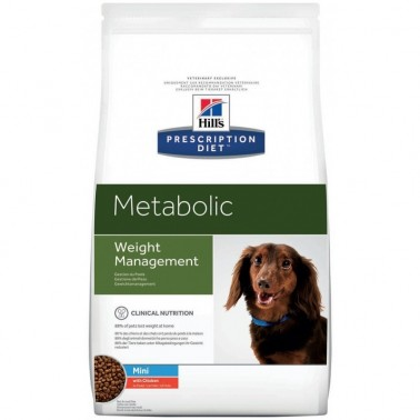 Hill's Metabolic Prescription Diet pienso para perros mini