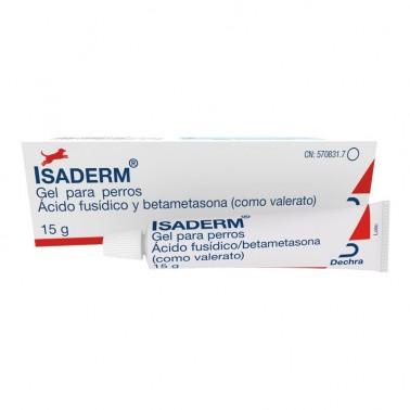 ISADERM Gel 15 gr (FUCIDERM) Dermatitis Humeda en perros