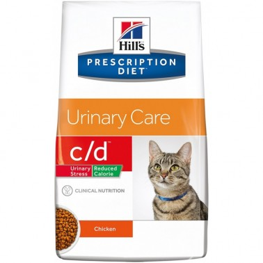 Hill's c/d Prescription Diet Urinary Stress Reduced Calorie pienso para gatos