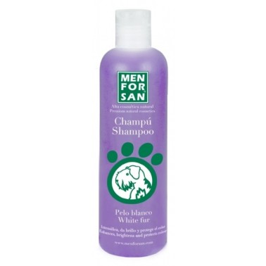 Champú pelo blanco men for san 300ml