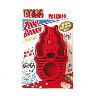 Kong Zoom Groom cepillo para Perro