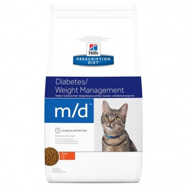 Hill's m/d Prescription Diet Diabetes/Weight Management pienso para gatos