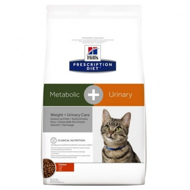 Hill's Metabolic + Urinary Prescription Diet pienso para gatos