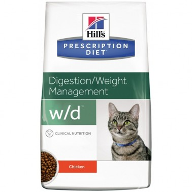 Hill's w/d Prescription Diet Digestive/Weight Management pienso para gatos